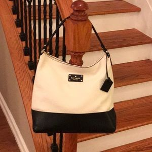 ♠️ Kate Spade Lexie Leather colorblock hobobag ♠️